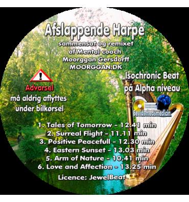 Afslappende Harpe (CD format)