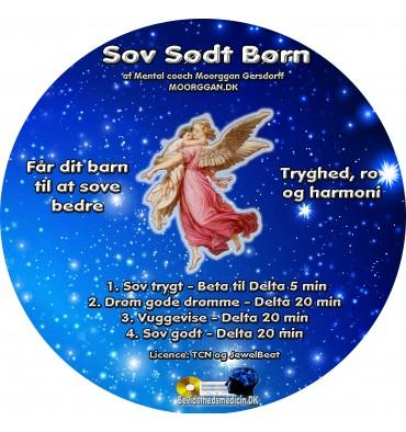 Sov Sødt Børn (CD format)